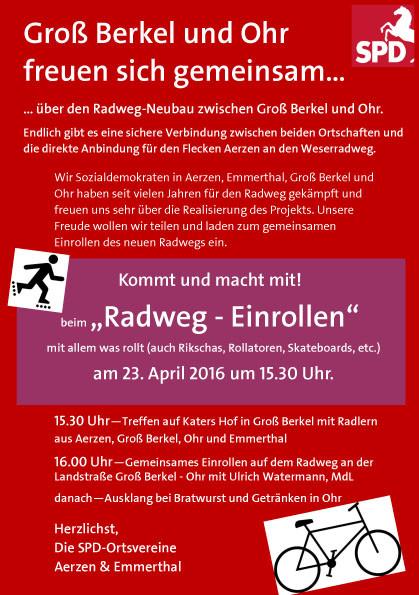 Flyer-radweg-plakat Allgemein